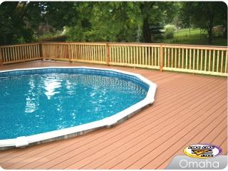 Mixed Pool Deck