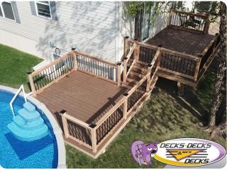 TimberTech Pool Deck Omaha