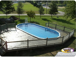 Low Maintenance Pool Deck