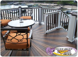 Enjoy a low maintenance deck on your Omaha home