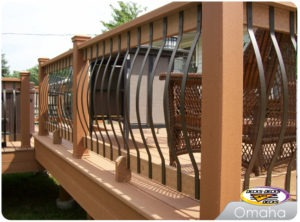 custom deck balusters omaha